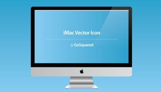 iMac Vector Icon