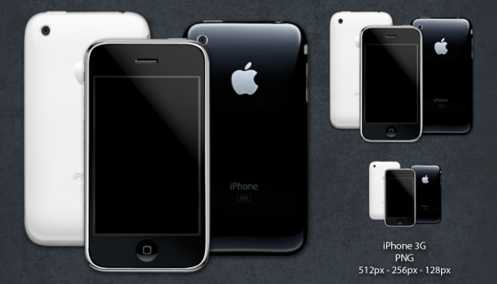 iPhone 3G Icons