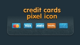 Credit Card Web Icons