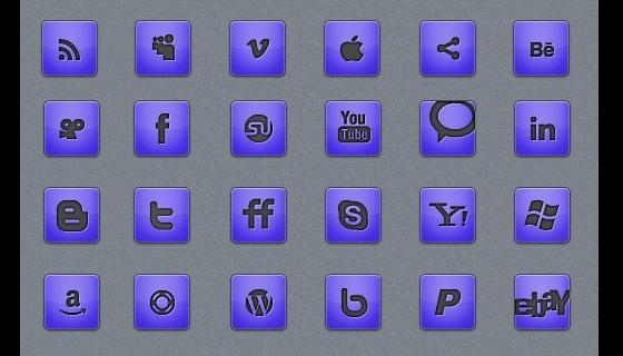 Massive Minimalistic Icon Set