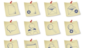 Sketchy Paper Icons