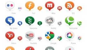 More Social Media Balloons