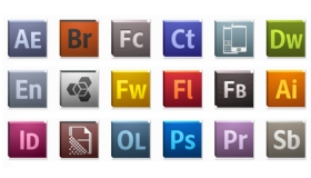 Adobe CS5 Icons