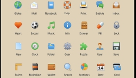 Toolbar Icon Set