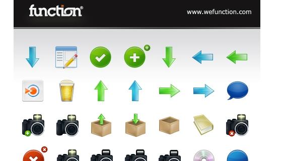 Function Free Icon Set