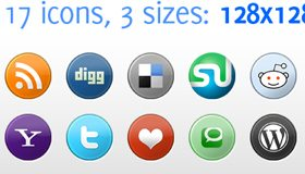 Social Media Icons Pack