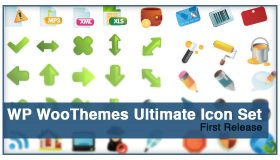WP WooThemes Ultimate Icon Set
