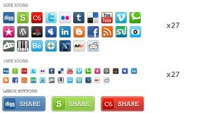 Pixel Perfect Social Media Icons