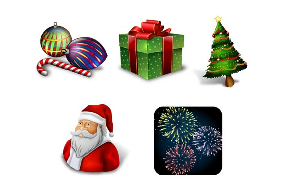 Holiday Season Icons Holiday Seasonal Icons