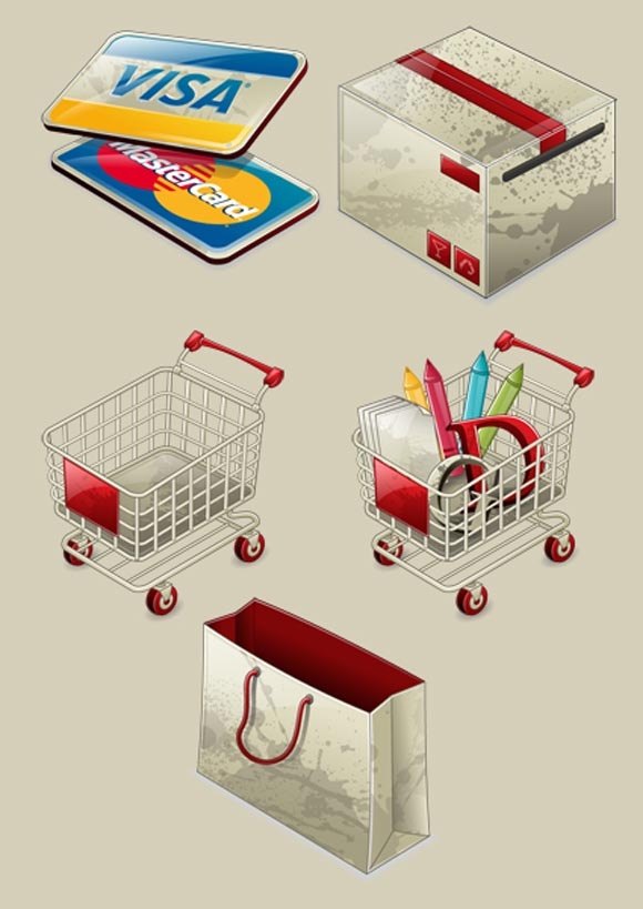 Iconshock E-commerce Icons