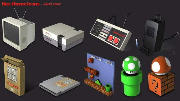 Nes Icons Pack by Ahuri