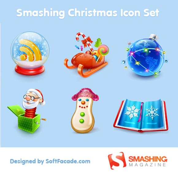 Smashing Christmas Icon Sets