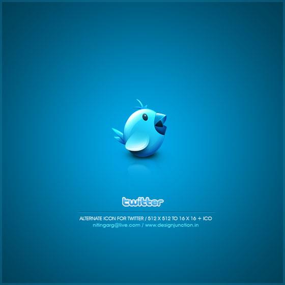 Twitter Bird by Freakyframes