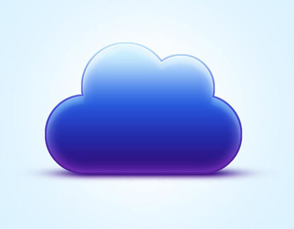 Vibrant Cloud Icon Tutorial