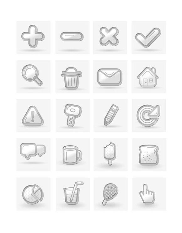 Free Minimal Icon Set