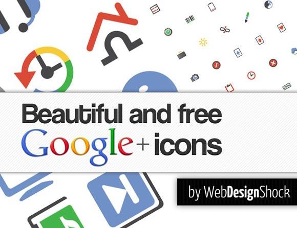 204 Google Plus Interface Icons