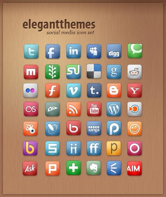 Free Social Media Icon Set