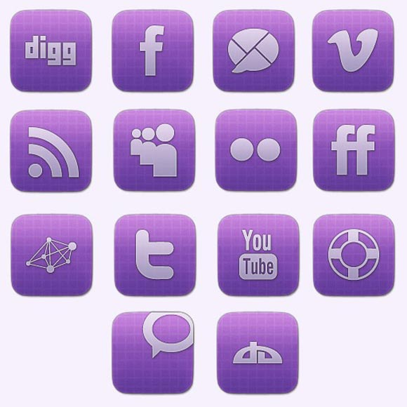 Vibrant Sophisticated Social Media