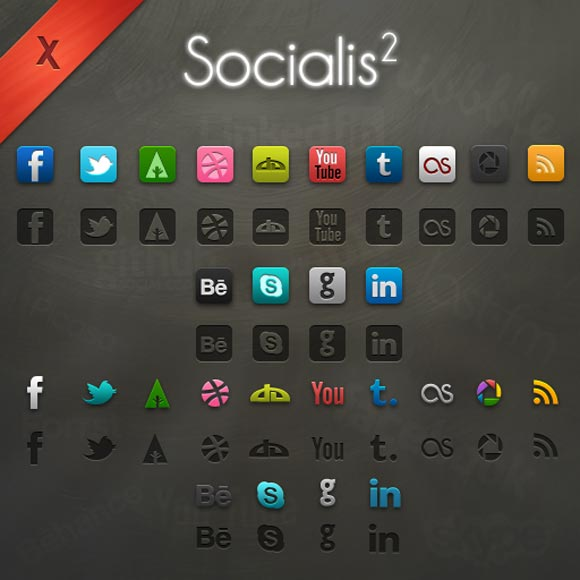 Socialis 2 - Freebie by  Xeloader
