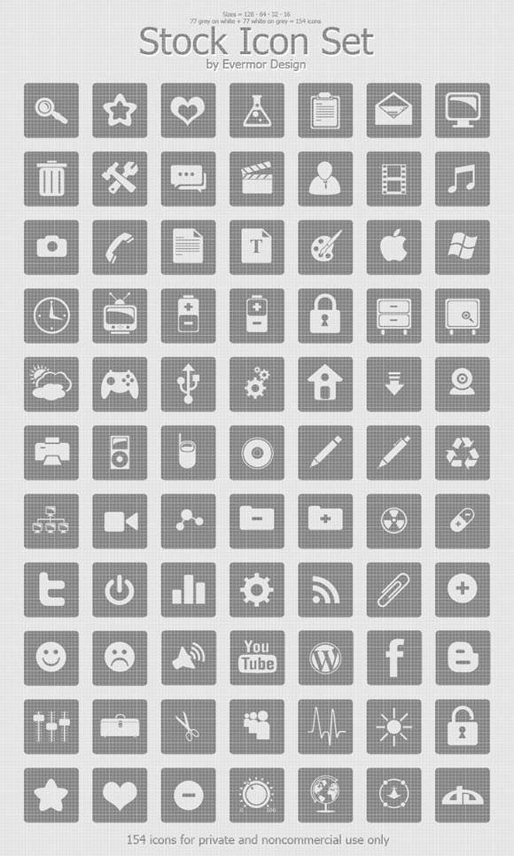Stock Icons by Remitrom73