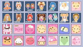 50 Kawaii Icons by A-Little-Kitty