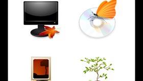 Autumn Breeze Icons by Da-flow