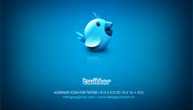 Twitter Bird by Freakyframes