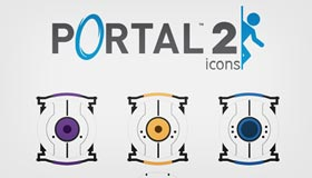 Aperture Science Icon Set