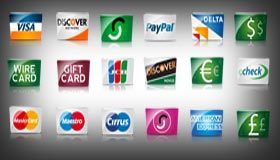 Credit Cards and Payment by Iconshock