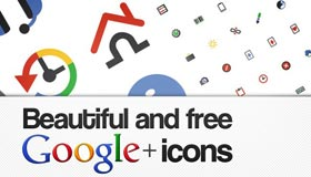 204 Google Plus Interface Icons