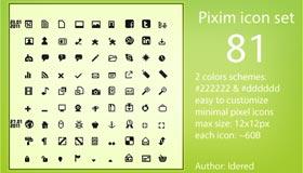 Pixim Icon Set by Idered