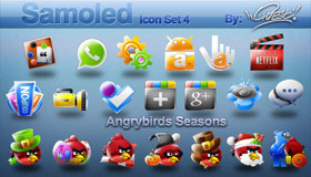 Samoled Icon Set 4 by Jquest68
