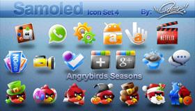 Samoled Icon Set 4 by Jquest68