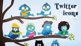Free Twitter Icon Set