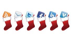 Free Holiday Social Media Icon Set