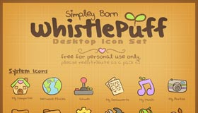 WhistlePuff Desktop Set
