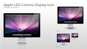 Apple LED Display Icon