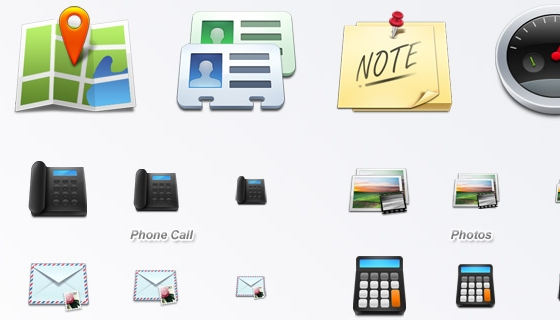 Mobile Icon Set