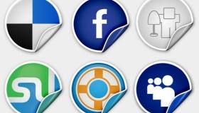 Peel Over Icons