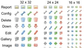 Web Control Icons