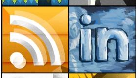 Picasso Social Media Icons