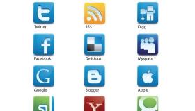 Vector Social Media Icons