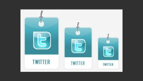 Tag Style Social Bookmarking Icons