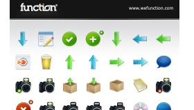 Function Free Icon Set