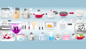 Vector Kitchen Icons