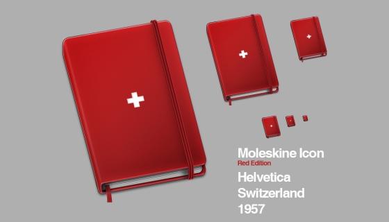Moleskine Helvetica Icon