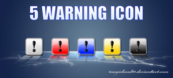 5 Warning Icon by Magicland70