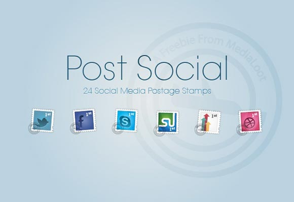 Social Postage Stamps Part 1