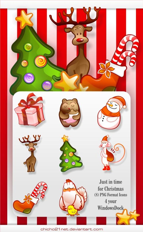 Christmas Dock Icons by Chicho21net