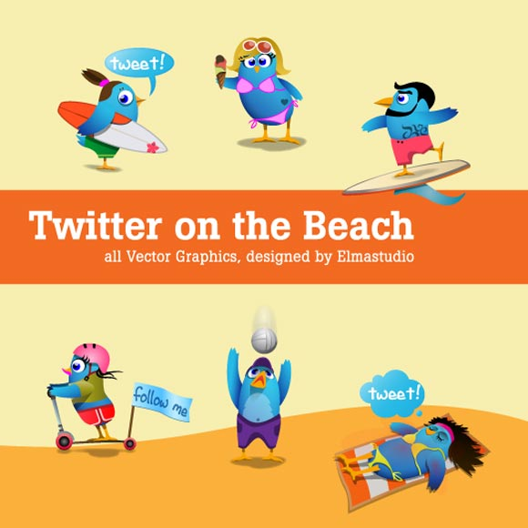 Twitter On The Beach